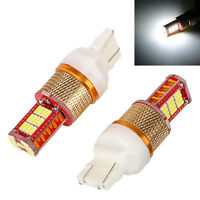 1 Pair T20 4014 33SMD Car Turn Signal Lights Auto Replacement Parts Brake Lamp