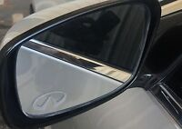 INFINITI Etched / Frosted Look Mirror Glass Decal Stickers ~ Set Of 2