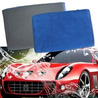 1 Pair Car Wash Magic Clay Mitt Cloth Auto Care Cleaning Towel Microfiber Sponge