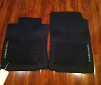 2005-2011 Toyota Tacoma All Weather New OEM 2 piece Front Rubber Floor Mats