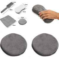 Universal Vehicle Car Surface Body Wash Clean Kit Towels Pads Glove Wheel Brush