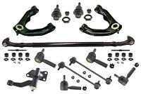 Suspension & Steering Kit Sway Bar Link Tie Rods Control Arms Ball Joints RWD