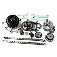 4.7L Timing Chain Kit Gears+Oil+Water Pump for 99-08 Ram 1500 2500 Durango Jeep