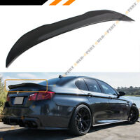FOR 2011-17 BMW F10 5 Series & M5 Carbon Fiber High Kick Big Trunk Spoiler Wing
