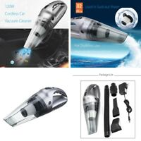 Universal Cordless Car Home vacuum cleaner 120W Rechargeable Portable Wet