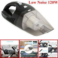 Car & Home USE Low Noise 120W Cordless Rechargeable Dry & Wet Vacuum Cleaner