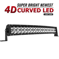 24inch 280W LED Work Light Bar Curved Spot Flood Driving Offroad SUV 4X4 Jeep 22