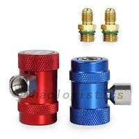 2pcs R1234yf Quick Connector Refrigerant / Air Conditioning Adapter US Local