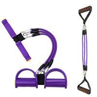 Fitness Sit-up Exercise Equipment chest expander Resistance Bands Home Gym Yoga