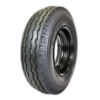 2 (Two) New HI-RUN ST 8-14.5 MOUNTED (ST205/85D14.5) LRG/14Ply Trailer Tire 8145