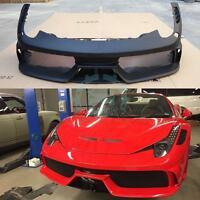 Newest Style Car Front Bumper For Ferrari F458 Retrofit Car Accessories Exteri