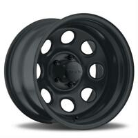 U.S. Wheel 044 Series Stealth Crawler Black Steel Wheels 15