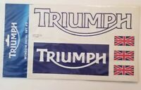 TRIUMPH WINDOW DECAL SET #3 M9111009 stickers