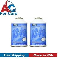 R134a Automotive A/C Air Conditioning Refrigerant Gas (2) 12 oz Can