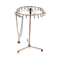 Jewelry Display Holder Rotating Necklace Earring Bracelet Organizer Stand Rack