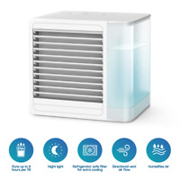 Personal Space Portable Mini Air Conditioner Cooling Air Fan Humidifier Purifier