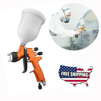 US Shipping Air Spray Gun with Cups Car Body Surface Paint Tool 28 to 43 psi New