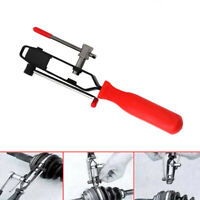 Car CV Joint Boot Clamp Banding Crimper Steel Automotive Tools W/ Cutter Plier