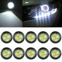 10x White 12V 15W Eagle Eye LED Daytime Running DRL Backup Light Car Rock Lamps