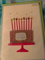 Papyrus Greeting Card - Happy Birthday. New. Retail 6.95