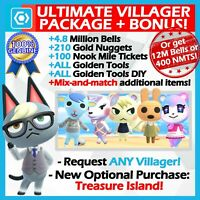 Animal Crossing New Horizons 🔥 Ultimate Move-in Package 🔥 FAST