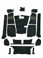 MG MGB Roadster '68-'80 4 Synchro Carpet Set - Black High Quality