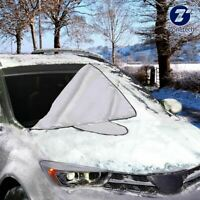 Zone Tech Car Windshield Snow Cover Truck Ice Protector Sun Shield Pouch