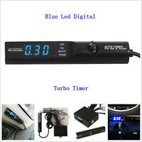 Universal APEXI Auto Turbo Timer For NA & Turbo Black Pen Control Blue LED Unit