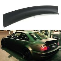 BMW E46 Rear Boot Lid Trunk Spoiler Ducktail Wing Lip 2 Door Coupe Duck Tail