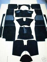 Triumph TR4a  TR5 TR6 & TR250 '65-'76 High Quality Black Carpet Set