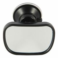 New Universal Car Van Truck Interior Suction Cup Clip On Flat Rear View Mirror
