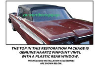 EDSEL CORSAIR CONVERTIBLE TOP DO IT YOURSELF PACKAGE 1959