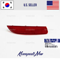 REFLECTOR REAR BUMPER LEFT DRIVER SIDE 924053J200 HYUNDAI VERACRUZ 2007-2012