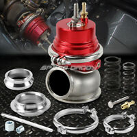 UNIVERSAL EXTERNAL 12-PSI 60MM TURBO/CHARGER V-BAND WASTEGATE WG W/SPRING RED