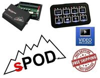 sPOD 8 Circuit SE System with HD Switch Panel fits Universal Jeep UTV Other