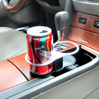 Universal Car Double Wedge Between Seat Dual Drink Bollte Glass Cup Holder Stand