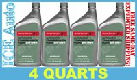 4 PACK of Honda ATF DW-1 Automatic Transmission Fluid Genuine 082009008 4 QTS