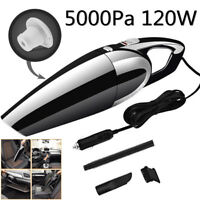 HIGH POWER 120W Portable Car Vacuum Cleaner Auto HandHeld Wet & Dry 12V 5000PA