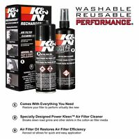 Air Filter Cleaning Kit Car Oil Spray Dirt Cleaner Rinse Recharger Service Kit