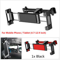 Backseat Mount Car Phone Holder For iPhone X 8 iPad Samsung S9 360 Degree Tablet