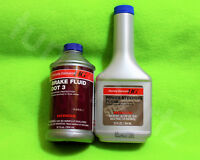 1 HONDA POWER STEERING PUMP FLUID + 1 BRAKE FLUID OIL DOT 3