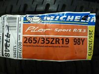 265/35-19 Michelin Pilot Sport A/S 3 Tire 35R R19 - 17209, Pair, NO RESERVE