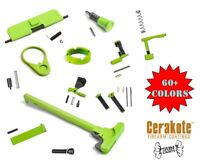 A&A Accent Lower Parts Build Kit - Shown in Zombie Green - more colors available