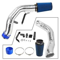 Oiled Cold Air Intake Kit For 03-07 Ford 6.0L V8 Powerstroke Diesel Silver