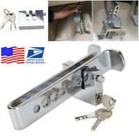 Car Anti-Theft Device 8 Hole Stainless Steel Clutch / Brake Security Lock (USA)