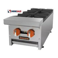 Sierra SRHP-2-12 Hotplate Gas Countertop 12