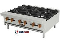 Sierra SRHP-6-36 Hotplate Gas Countertop 36