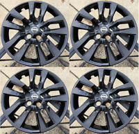 4x BLACK Hubcap fits 2007-2018 Nissan ALTIMA 16'' 10 SPOKE 2007-2018 NEW