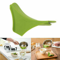 Anti-spill Silicone Soup Funnel Home Kitchen Gadget Water Soup Deflector Tools