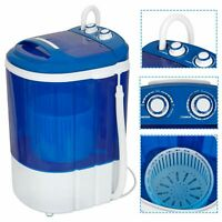 Portable Compact Washing Machine w/Washer&Spinner,Gravity Drain Pump Hose 9lbs